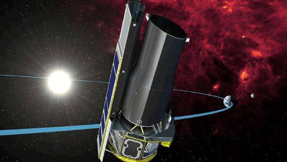 Default Spitzer Space Telescope graphic.